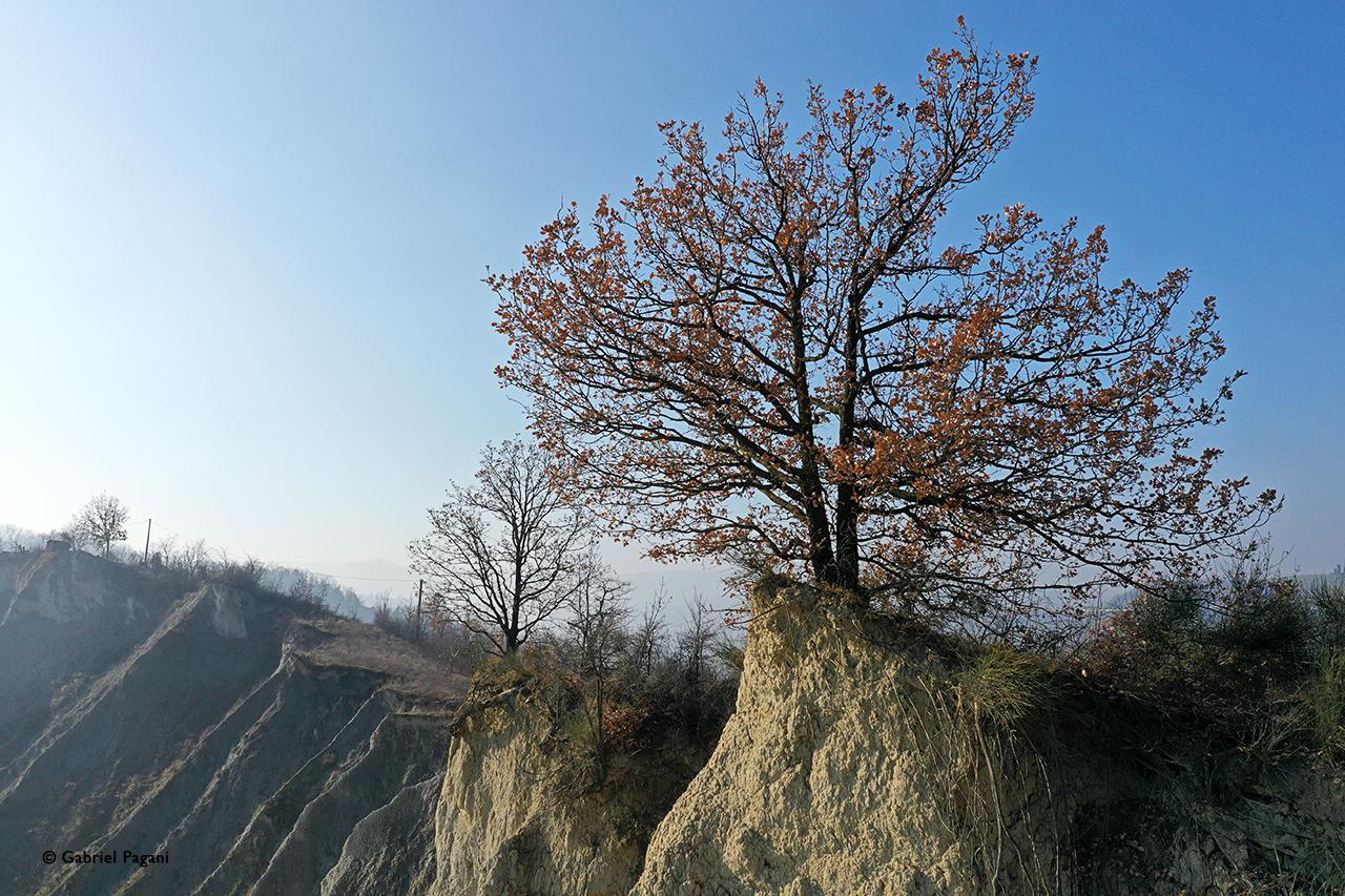 Calanchi, Emilia, foto da drone