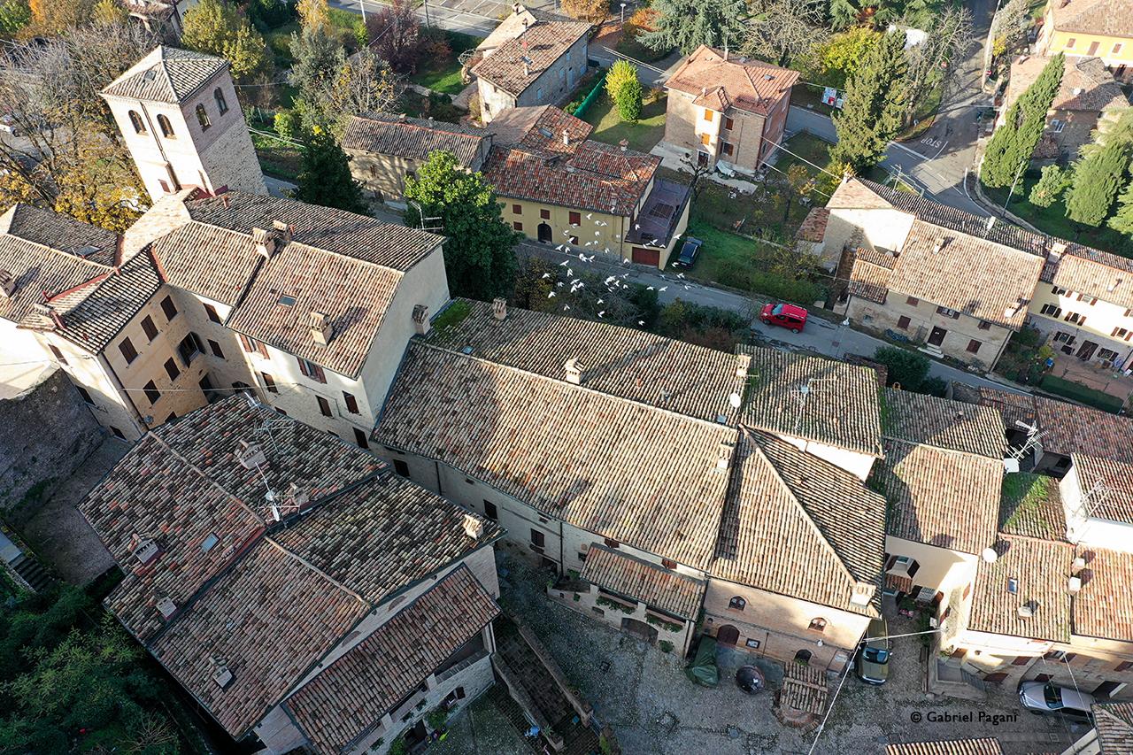 Savignano, Emilia, foto da drone